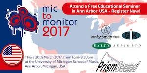 Mic To Monitor - University of Michigan