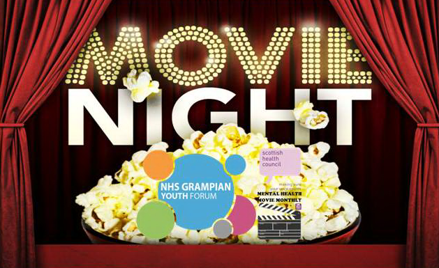 NHS Grampian Youth Forum - Pizza, Movie and D
