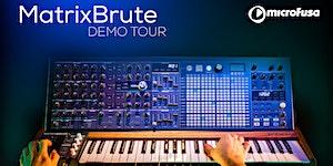 MatrixBrute Demo Tour en Escuela MicroFusa Barcelona