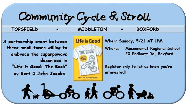 COMMUNITY CYCLE & STROLL