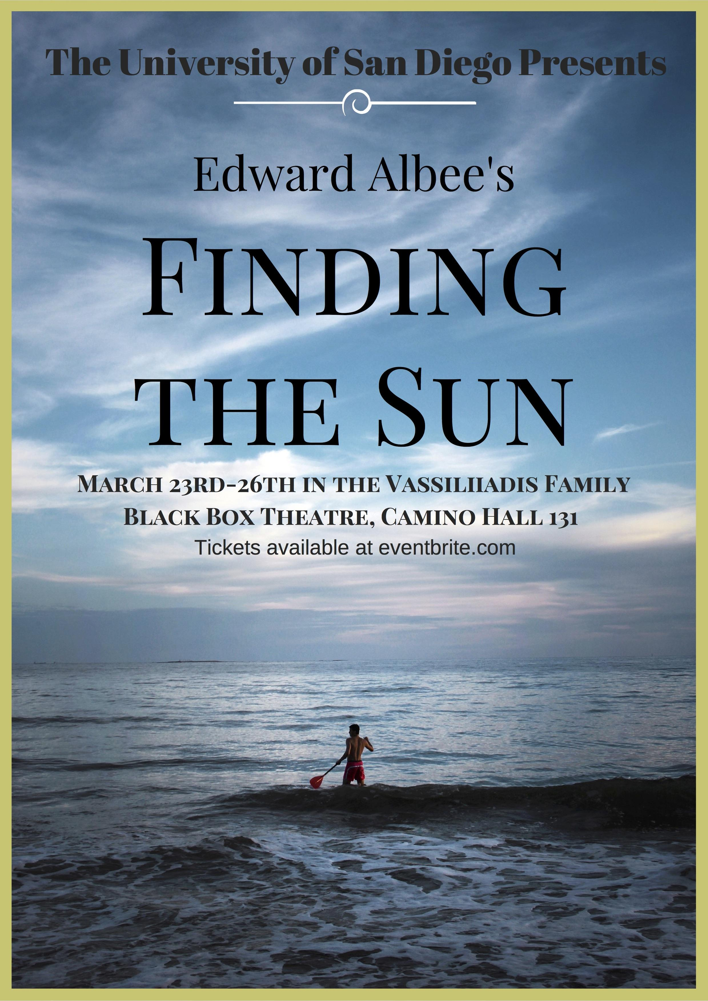 Finding the Sun by Edward Albee
