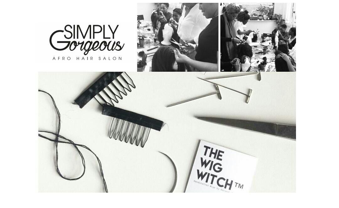 The Wig Witch wig making workshop at SIMPLYGo