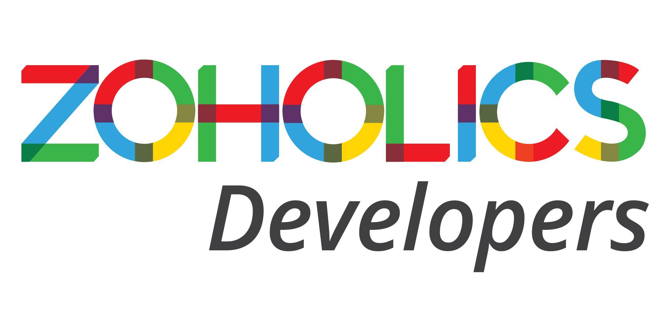 Zoholics: Developers 2017