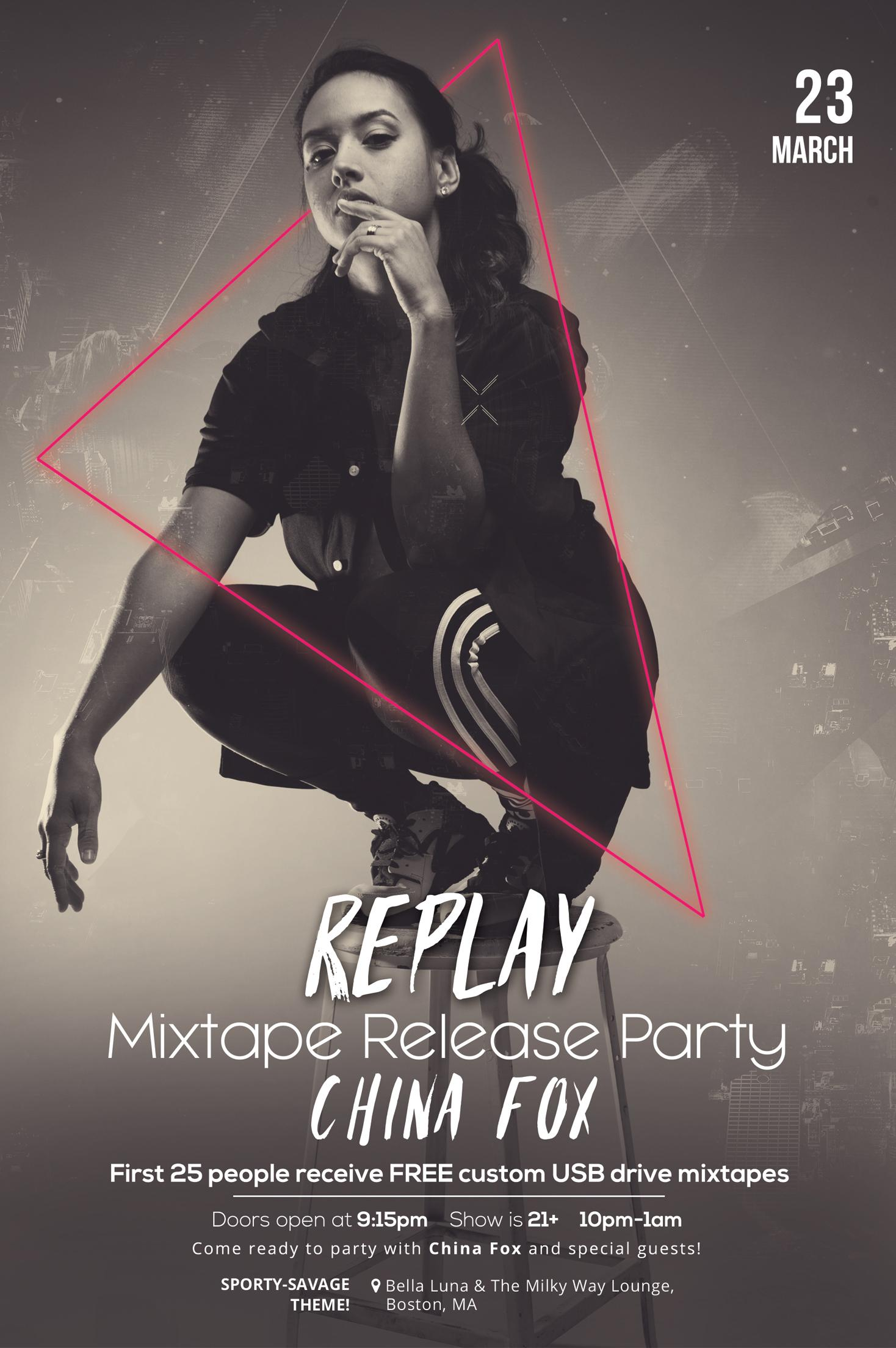 Replay Mixtape Release Party