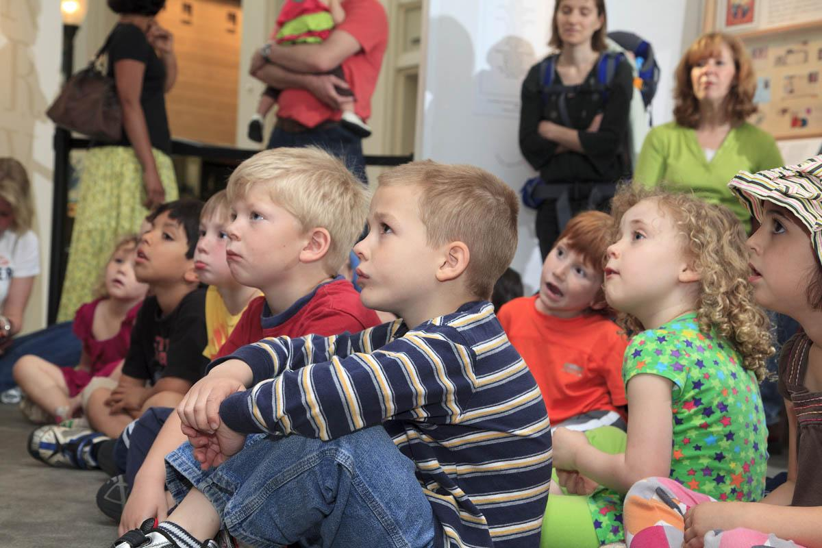 Story Time at the National Postal Museum!
