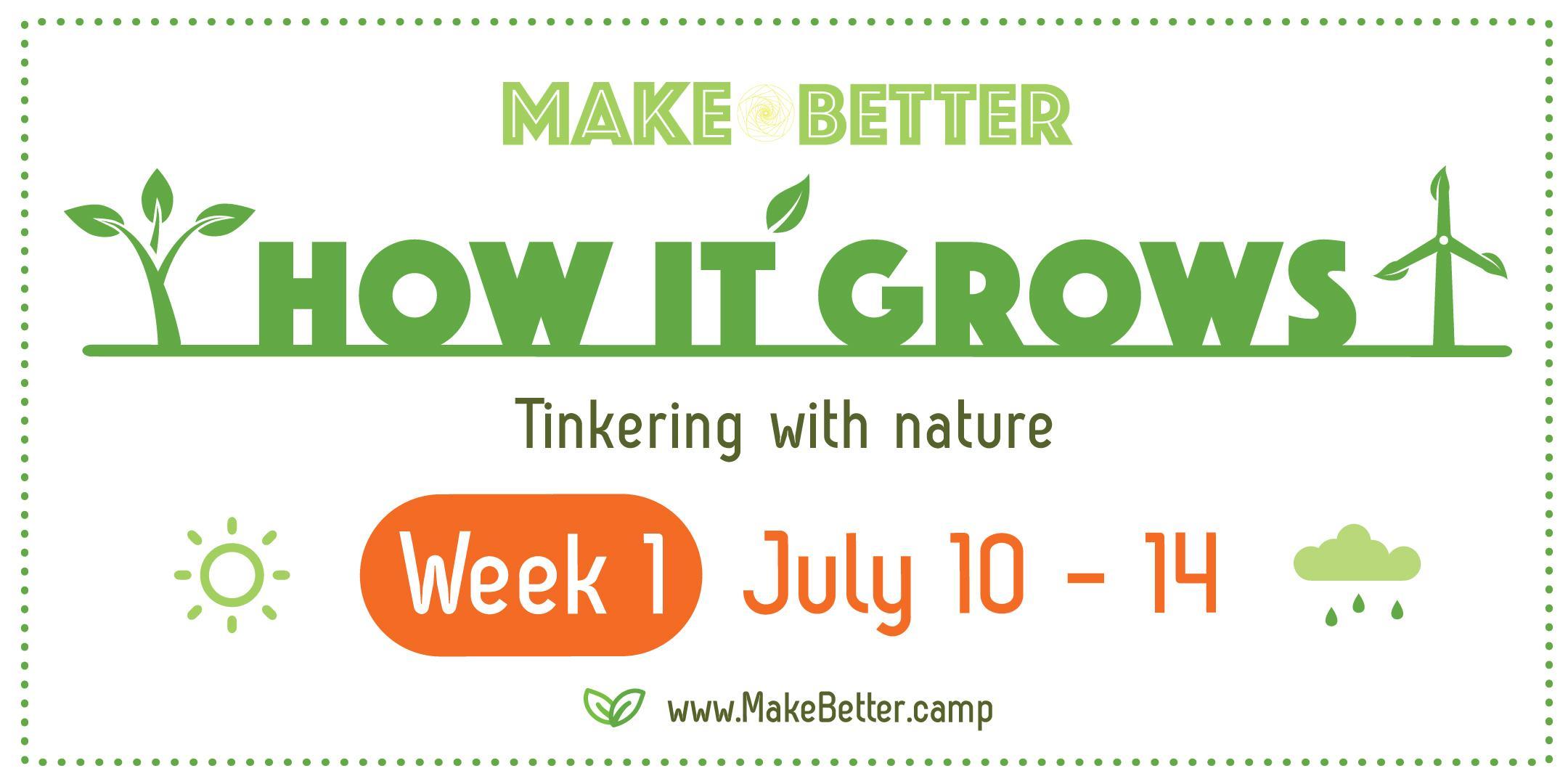 How It Grows (Week 1 - July 10 to 14) Deposit