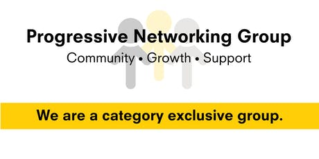 Progressive Networking Group Meeting tickets