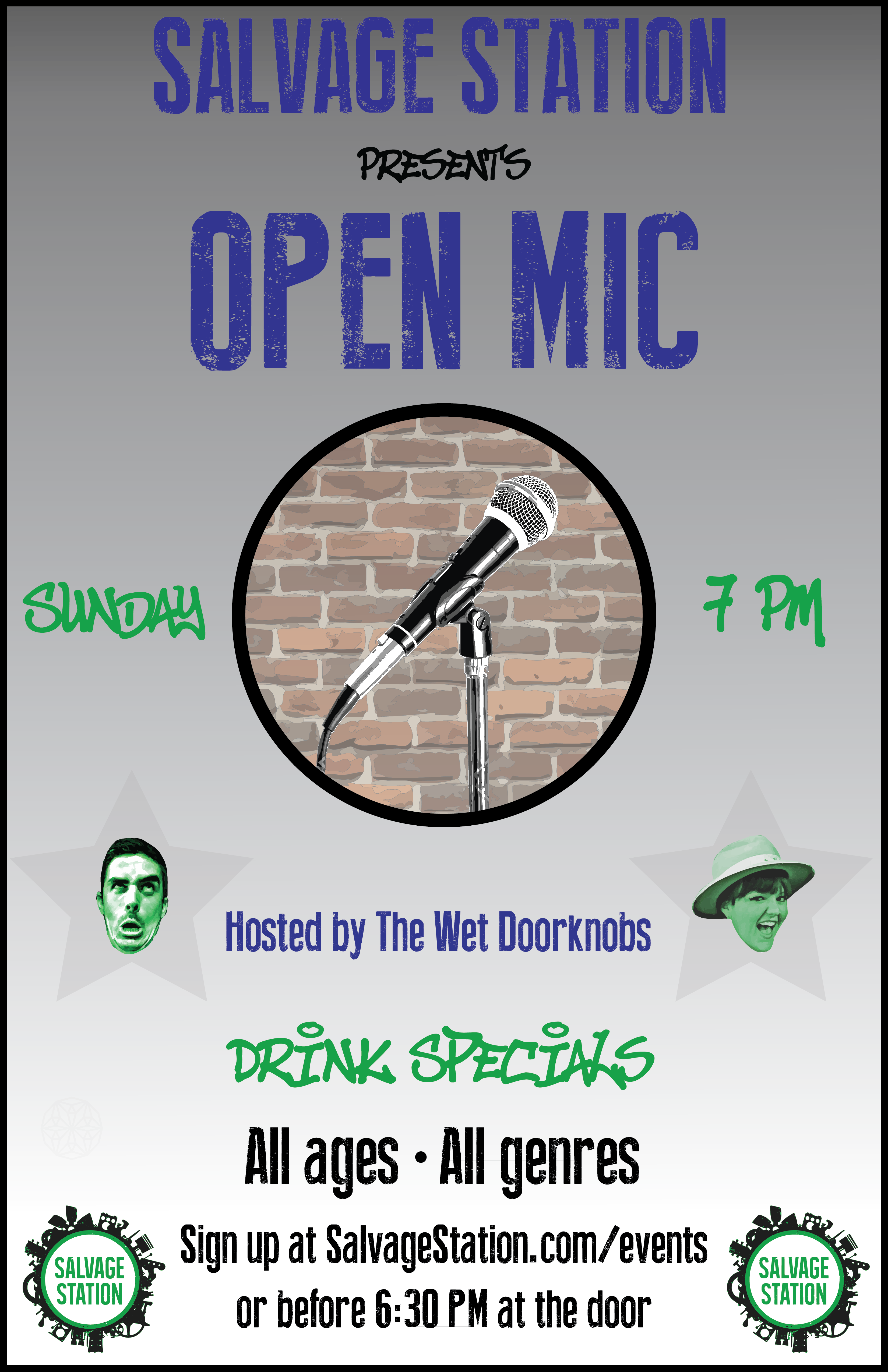 Open Mic Night Hosted by The Wet Doorknobs