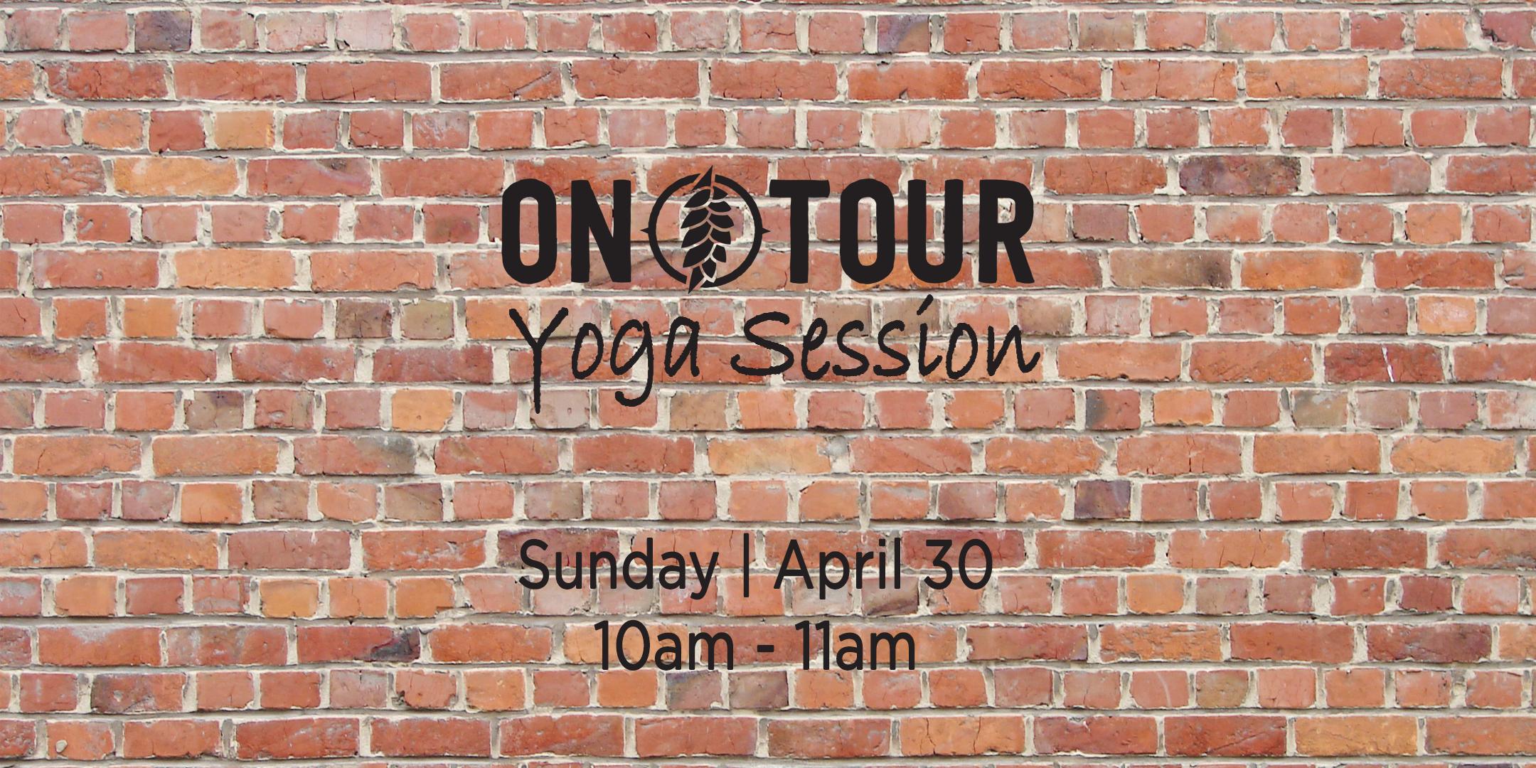Om Tour Session Yoga | April 30