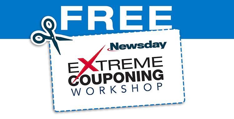 Newsday Extreme Couponing Workshop - Uniondal