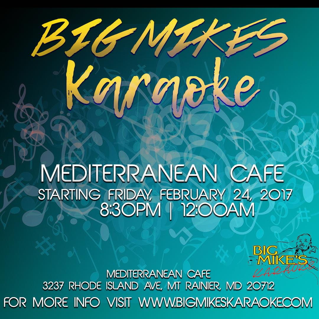 big mike's karaoke @ mediterranean cafe - 24 feb 2017