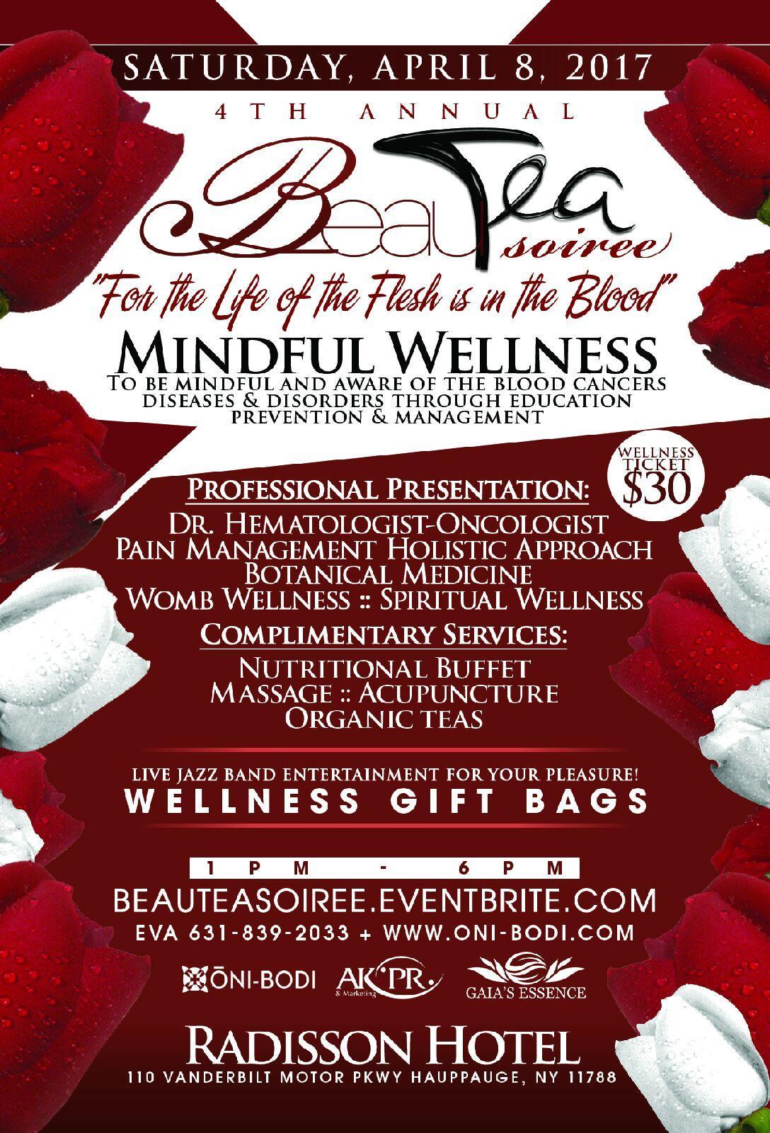 BeauTea Soiree Wellness 4th Annual