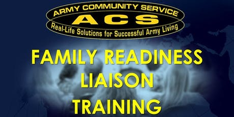 REAL FRG:  Family Readiness Liaison (FRL) Training (HAAF) tickets