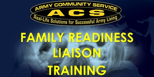 REAL FRG:  Family Readiness Liaison (FRL) Training (HAAF)