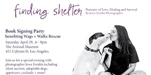 Finding Shelter Book Signing Party benefiting Wags &...