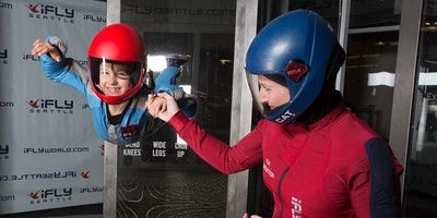 iFLY WHO Day STEM event