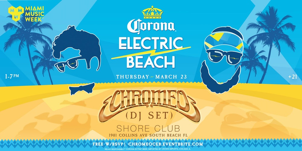 Corona Electric Beach Miami