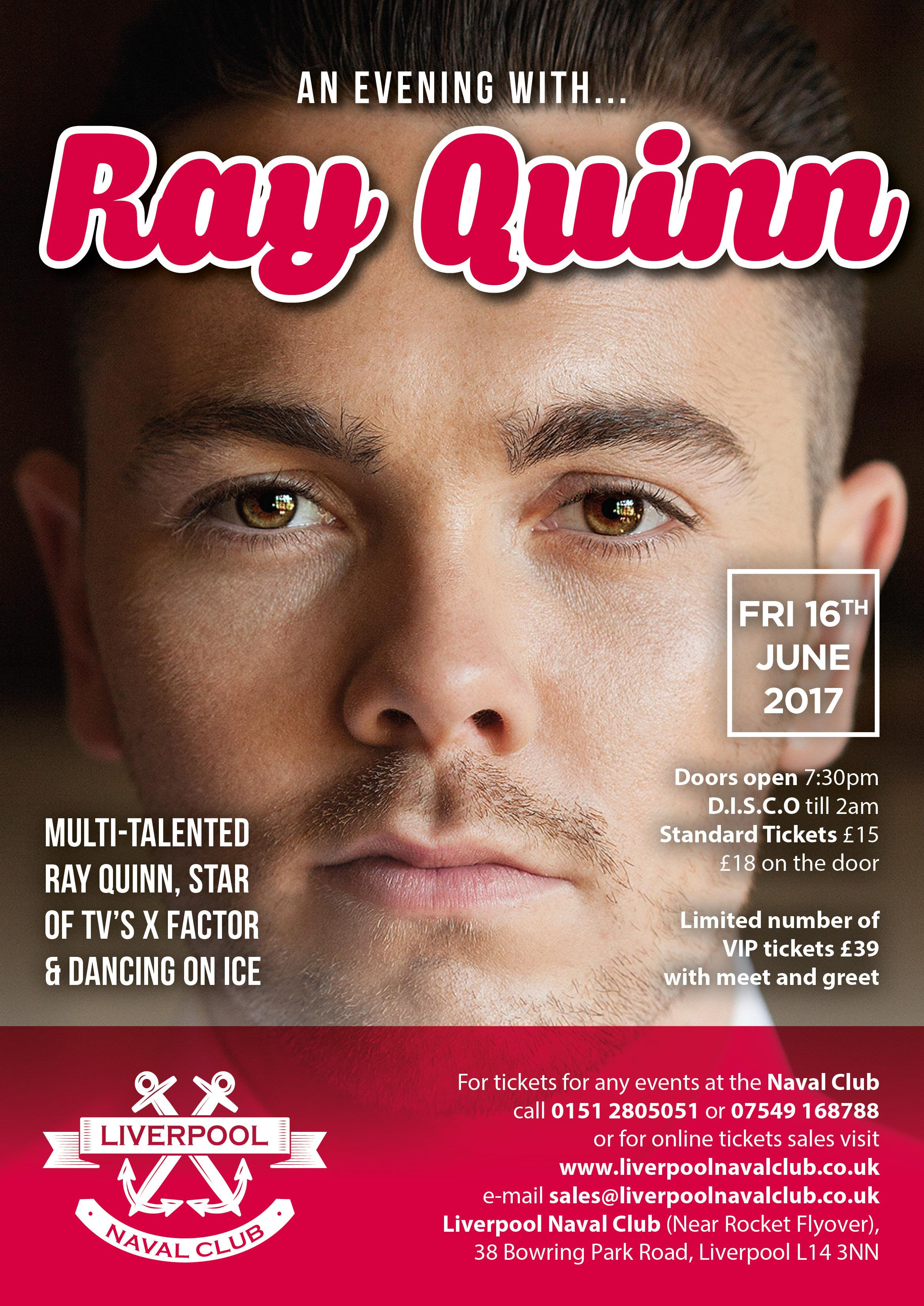 An Evening with Ray Quinn