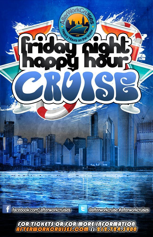Friday Night Happy Hour Cruise. Friday Night Happy Hour Cruise