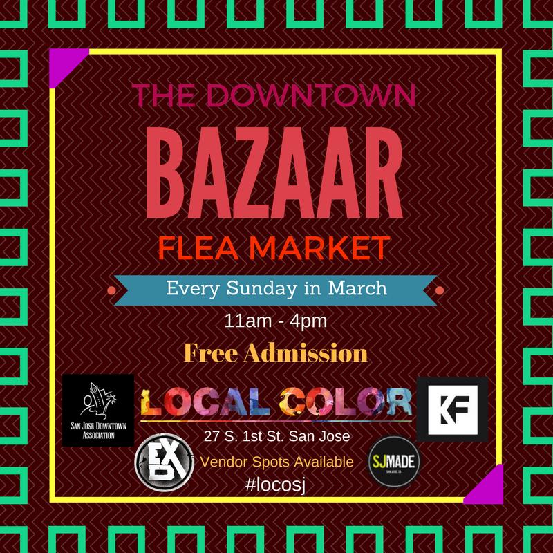 The Downtown Bazaar and Flea Market 3/26