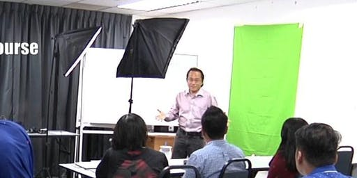 Camera Videography and Video Editing Course (2 days in Singapore)