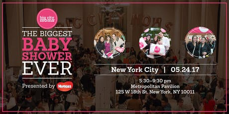 Big City Moms Biggest Baby Shower Ever! Spring NYC tickets