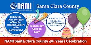 NAMI Santa Clara County 40+ Celebration