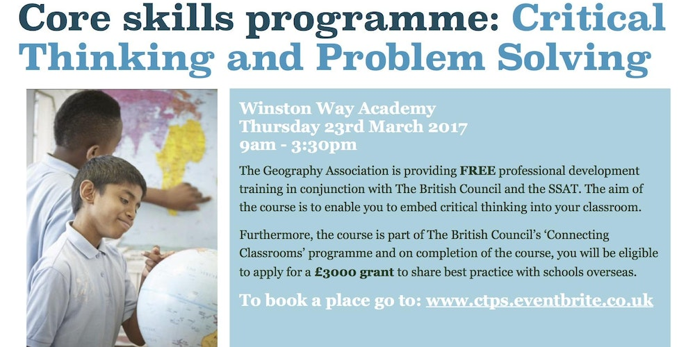 critical thinking and problem solving training