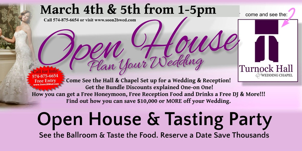 Wedding Open House Tasting Party
