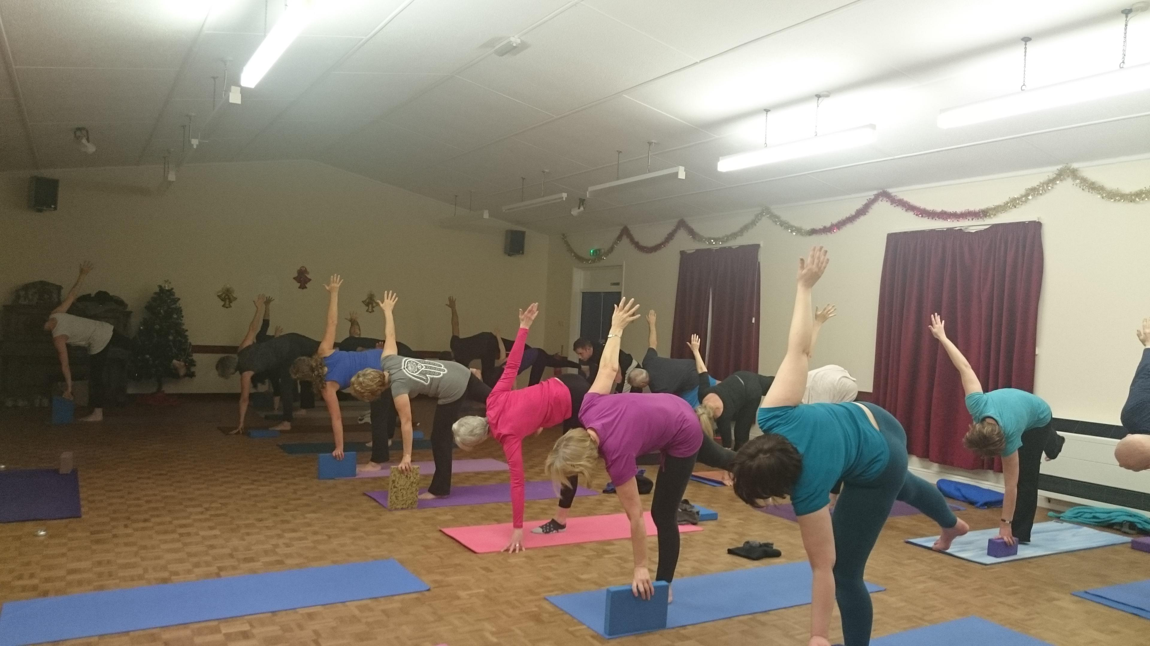 Do Yoga on Tuesdays at 6pm in Weston-super-ma