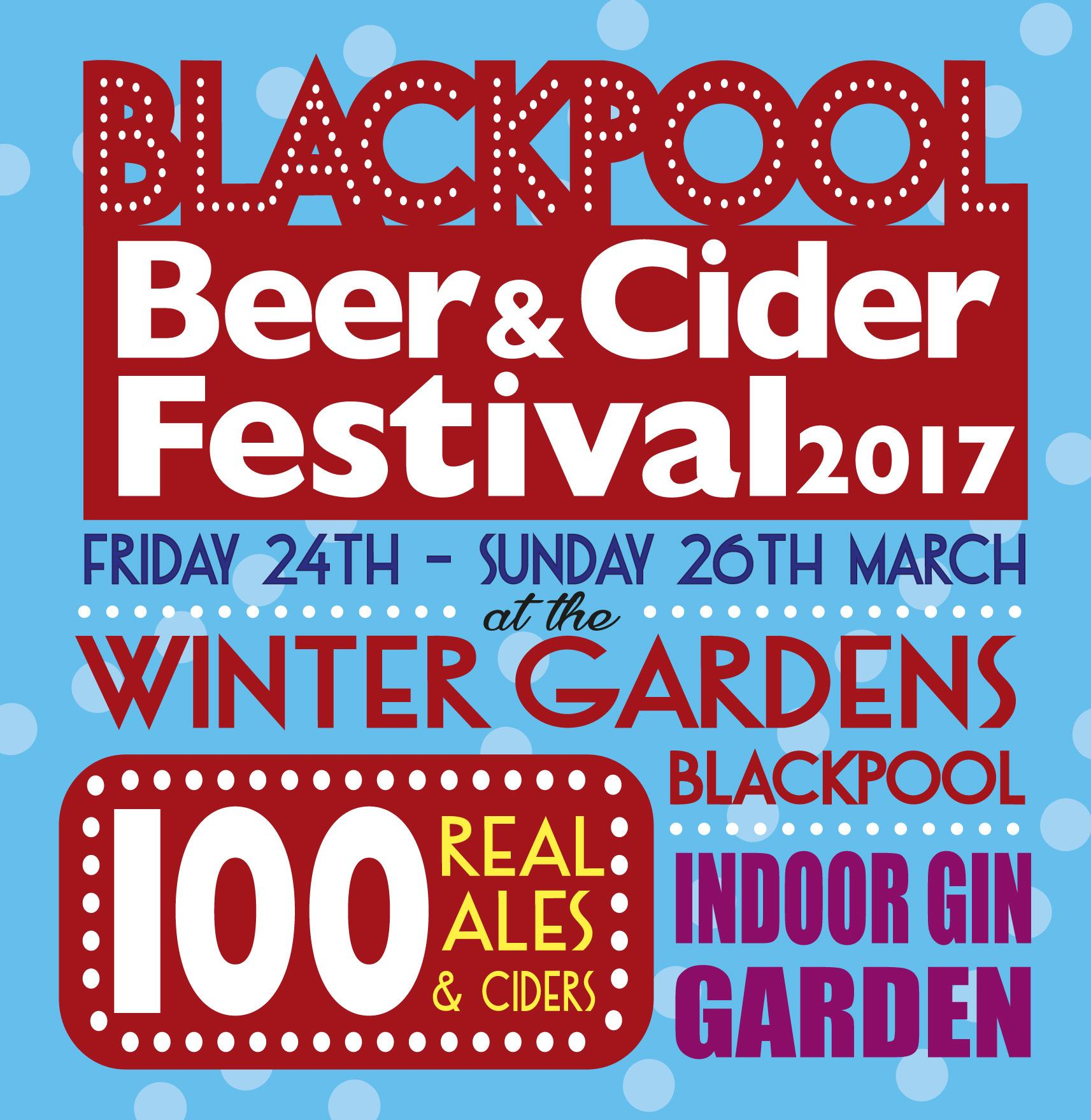 blackpool beer u0026 cider festival at the winter gardens march 2017