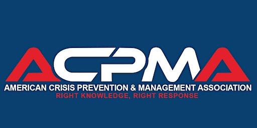 MAB Classes Inland Empire (Management of Assaultive Behavior)