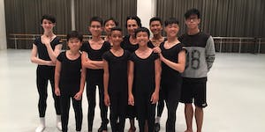 Character Dance Masterclass for Boys by Mdm Isabelle...
