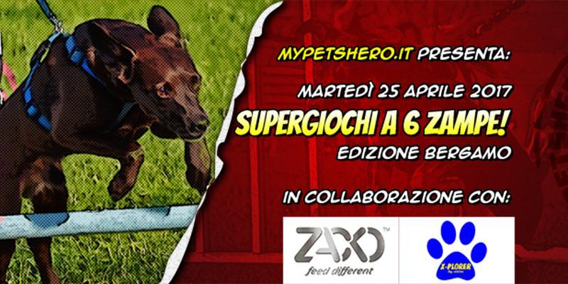 Super Giochi a 6 Zampe! Ed. Bergamo 2017