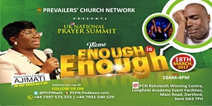 Prevailers Church Network 'UK National Prayer Summit'...