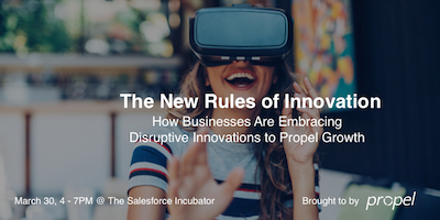 The New Rules of Innovation: Discussion & Networking Event