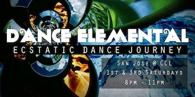 DANCE ELEMENTAL - Ecstatic Dance Journey - 1st Saturdays