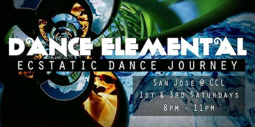 DANCE ELEMENTAL - Ecstatic Dance Journey - 3rd Saturdays