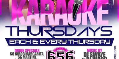 656 Sports presents Karaoke Thursday's