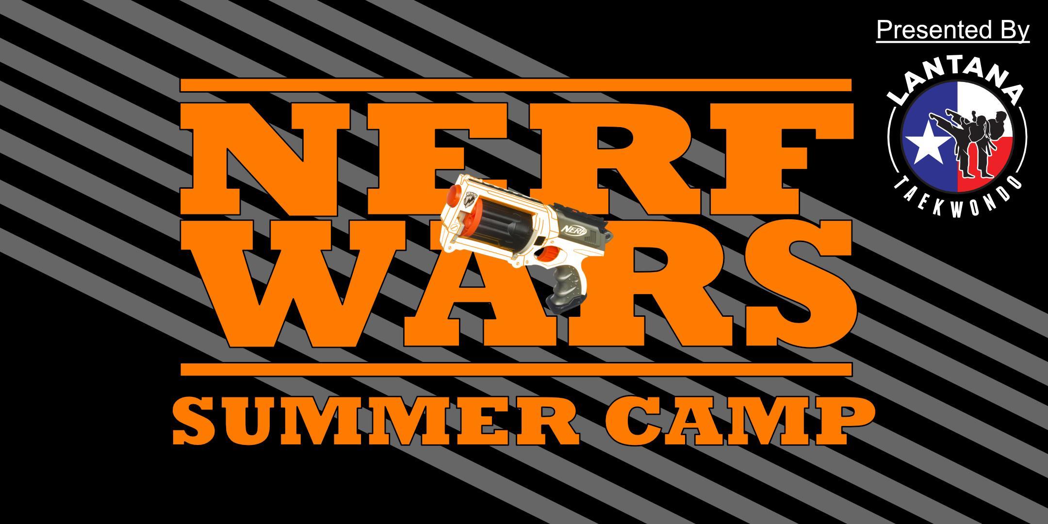 Lantana Summer Camps: Nerf Wars