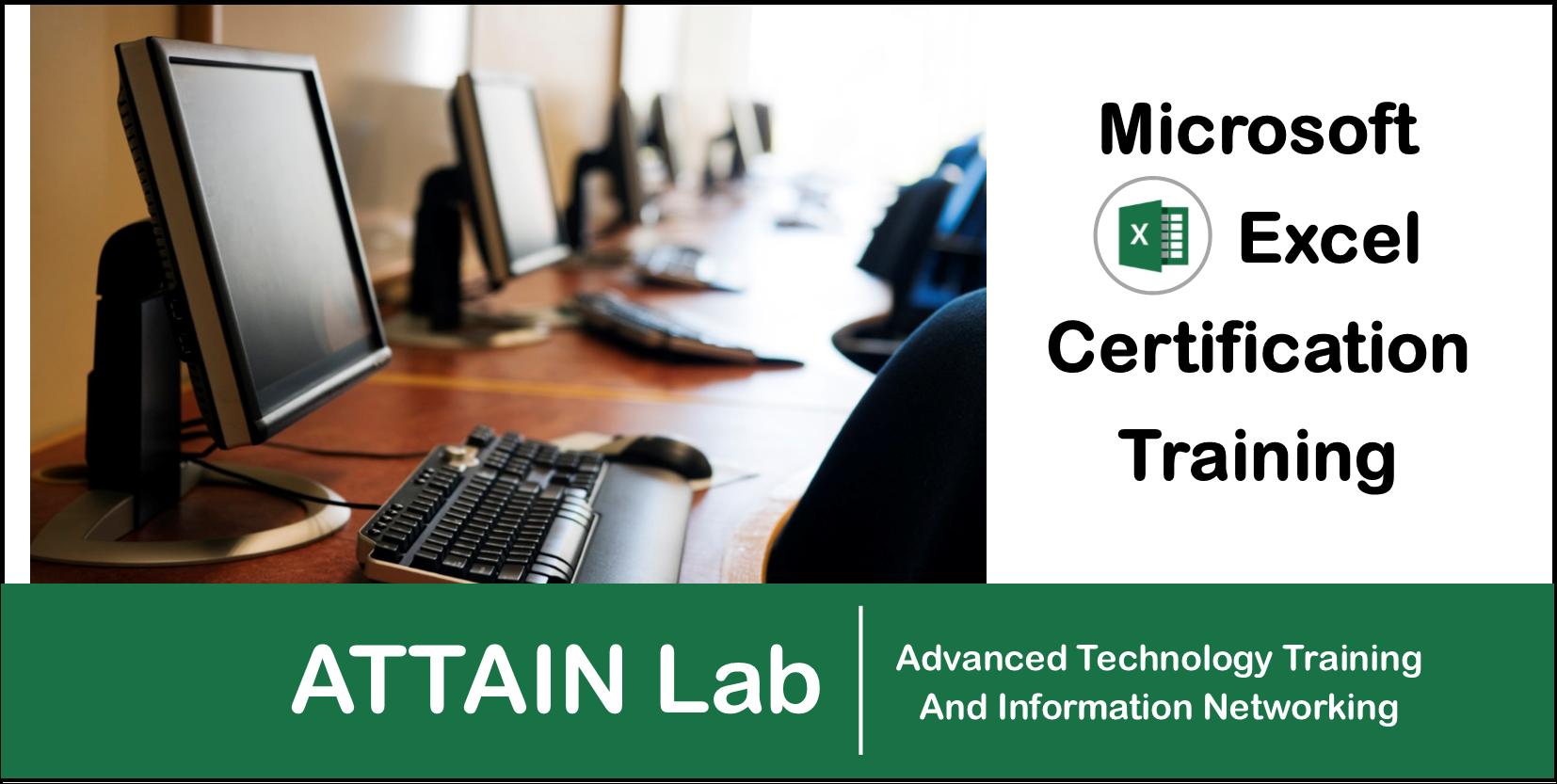Microsoft Excel 2013 Training (Albany, NY)