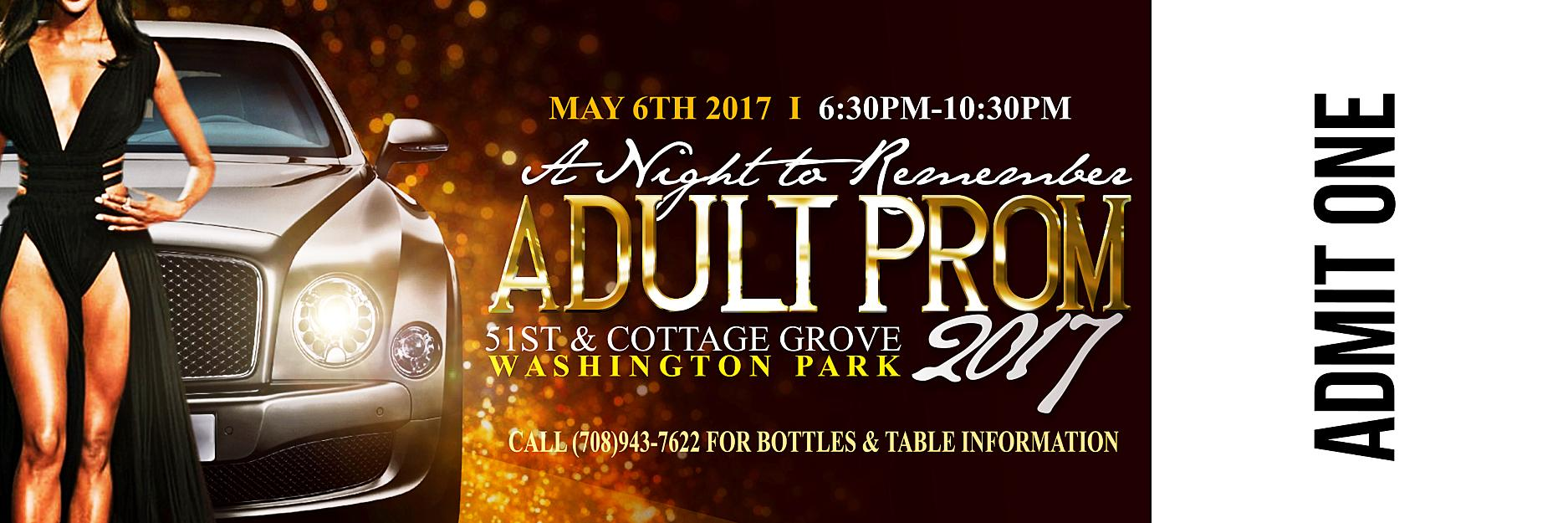 """A Night To Remember"" 2017 Adult Prom"