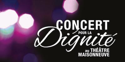 Concert pour la Dignité 2017