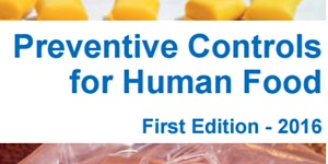 FSMA Preventive Controls Training for Human Foods...