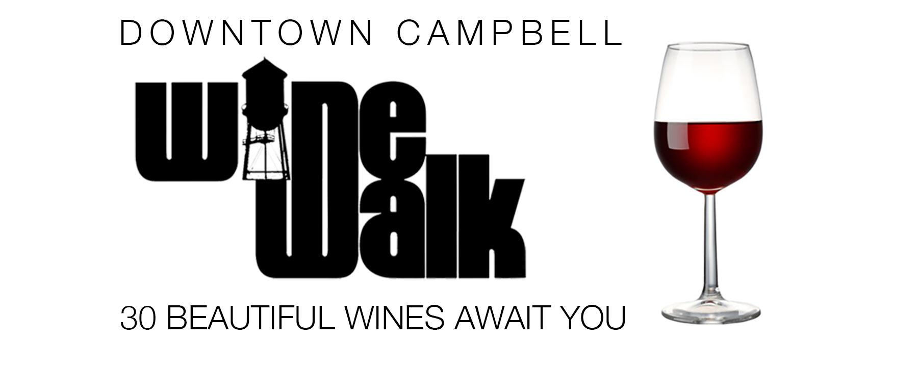 Spring Wine Walk - Downtown Campbell 2017