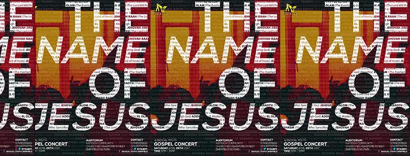 RY SHEFFIELD CONCERT: THE NAME OF JESUS 2017