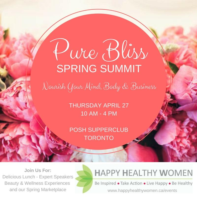 PURE BLISS Spring Summit: A Day to Nourish Yo