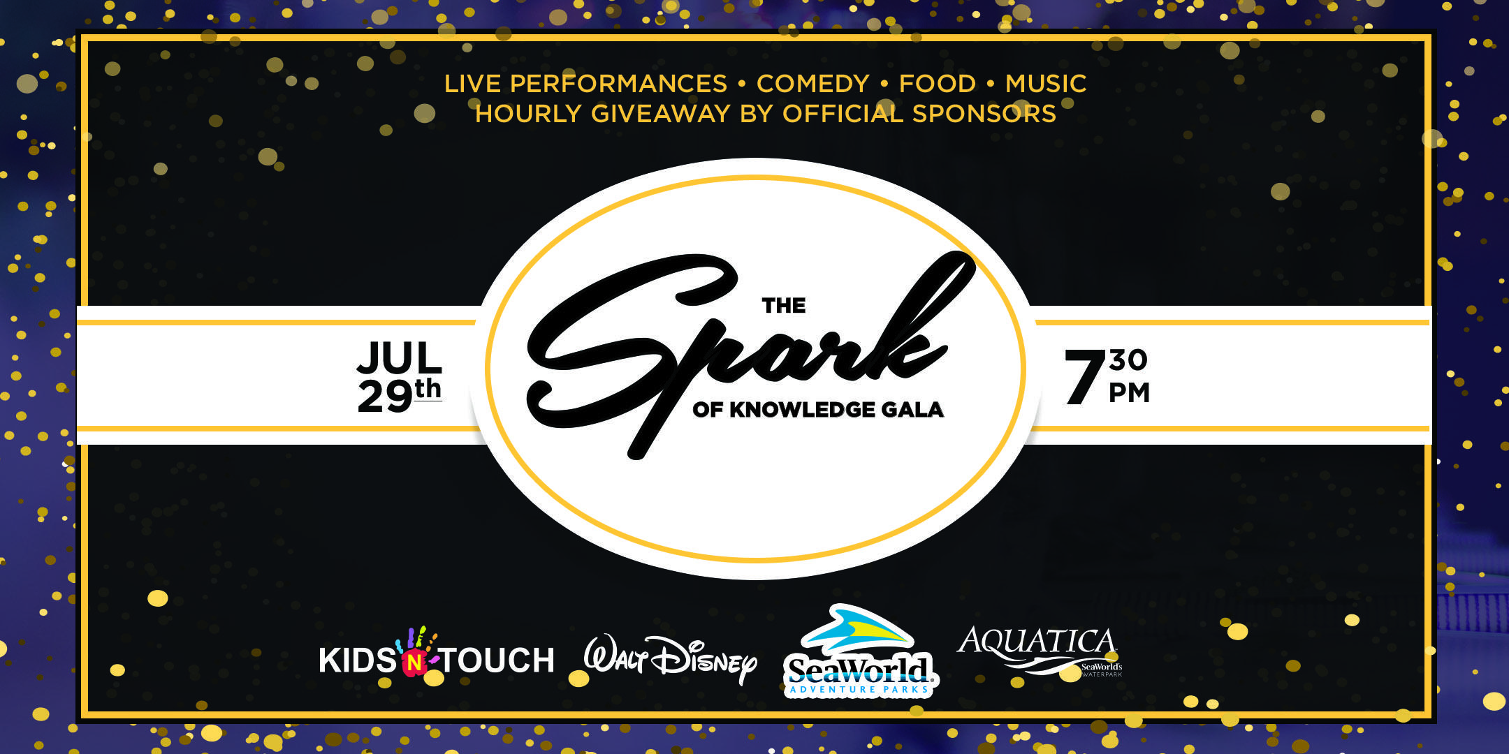 The Spark of Knowledge Gala. The Spark of Knowledge Gala