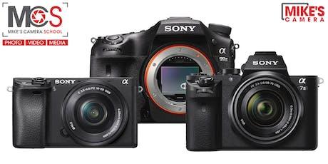 Sony Interchangeable Lens Camera - Sacramento tickets