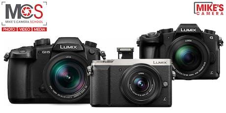Panasonic Interchangeable Lens Camera- Sacramento tickets
